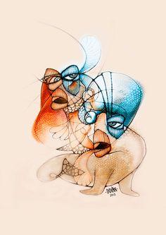 parientes- Ilustración