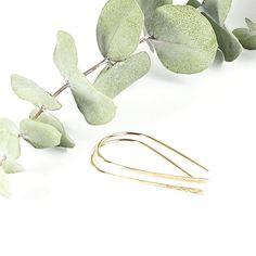 Gold Ribbon Earrings Wire Earrings, Drop Earrings, Gold Ribbons, Jewelry, Jewellery Making, Jewerly, Jewelery, Drop Earring, Jewels