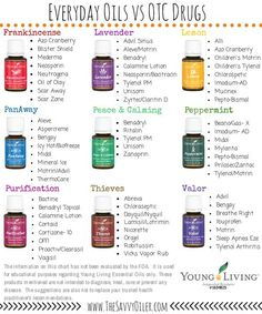 Young Living Essential Oils: Everyday Essential Oils Collection Medication by winnie