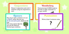VCOP Challenge Activity Cards - game, activity, fun, VCOP