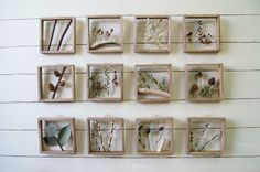15×15cm dried flower panel