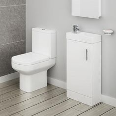 Shop the stylish Minimalist Floor Standing Cloakroom Suite. Ideal for contempora… Cheap Bathroom Suites, Cloakroom Suites, Cloakroom Basin, Cheap Bathrooms, Modern Bathroom, Cloakroom Ideas, Small Bathrooms, Design Bathroom, Washroom