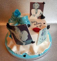Marilyn Monroe birthday cake