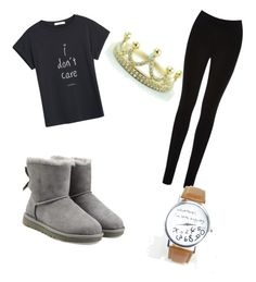 """""""Untitled #39"""" by lolo-smith0707 on Polyvore featuring MANGO, Oasis and UGG Australia"""