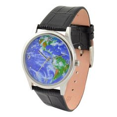 Earth Watch-Love watches with maps! :D