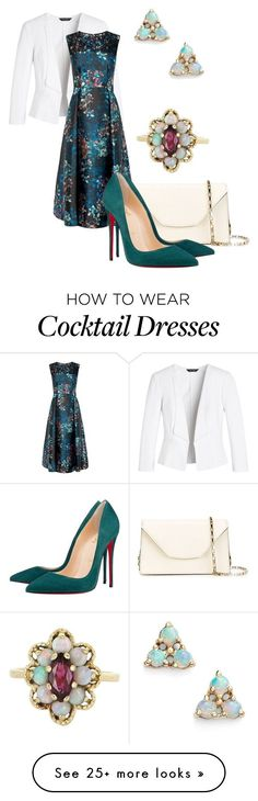 """Без названия #702"" by svetlana-kazantsewa on Polyvore featuring White House Black Market, Valextra, Christian Louboutin, Vintage, WWAKE, women's clothing, women, female, woman and misses"