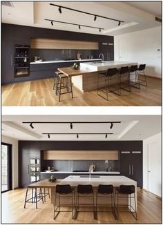 134 fantastic kitchen design ideas to copy right now 4 | Hometwit.com Kitchen Room Design, Dining Room Design, Kitchen Layout, Home Decor Kitchen, Interior Design Kitchen, Kitchen Ideas, Diy Kitchen, Kitchen Dining, Kitchen Hacks