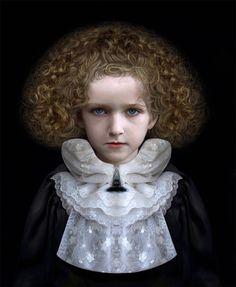 INFATES Artistic Fashion Photography, Art Photography Portrait, Digital Art Photography, Children Photography, Adriana Duque, Classic Portraits, Fairytale Art, Face Expressions, Chiaroscuro