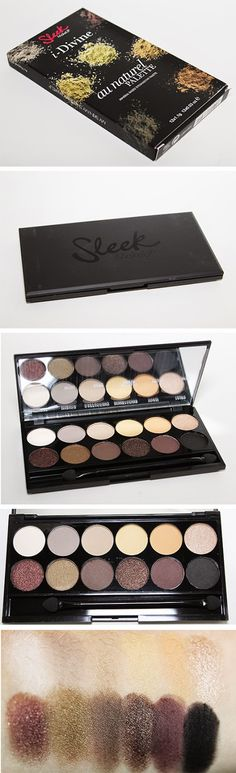 Sleek Makeup Palette: Au Naturel