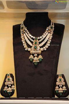 Ragalahari Exclusive Coverage - Haute Affair by Akritti at Park Hyatt, Hyderabad - Image 343 India Jewelry, Jewelry Shop, Fine Jewelry, Fashion Jewelry, Jewelry Design, Jewelry Logo, Stylish Jewelry, Gold Fashion, Bridal Fashion