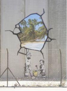 Sur un blog consacré à l'épreuve d'histoire des arts du brevet, une présentation du projet de Banksy en Palestine.