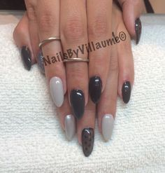 shades of grey. Gelenegle med Cnd Shellac.