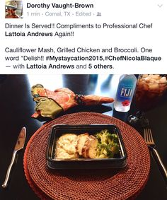We enjoy catering special events just as much as we enjoy deleivering meal prep…