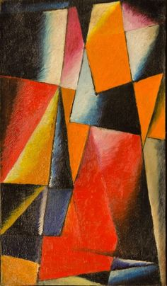 Lioubov Popova Abstraction Oil on canvas