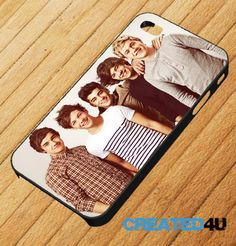 ONE DIRECTION iPhone 4/4S & iPhone 5 Mobile Phone Case. £7.45, via Etsy.