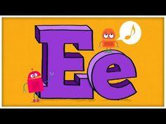 ABC Song: The Letter E  #Education #Kids #Alphabet #Language #ABC