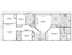 standard floor plan modular homesmobile