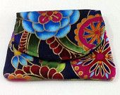 Fabric Pocket Wallet credit card holder - Free Shipping!