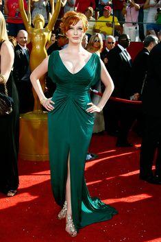 Christina Hendricks Photos - 60th Primetime Emmy Awards - Arrivals - Zimbio
