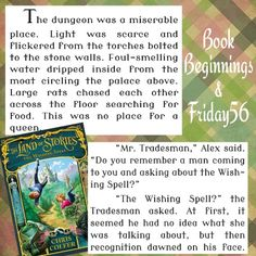 Book Beginnings & Friday 56 : Chris Colfer's The Land of Stories: The Wishing Spell