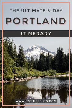Travelling to Portland, Oregon? Not sure what things to do? Click here for the ultimate five-day Portland itinerary to maximize your time in this amazing city! Eat all the best food, see all the sights, go hiking and more. #Portland #PortlandOregon #TravelPortland #KeepPortlandWeird #PortlandBeer #YouCaninPortland #Oregon #OregonTravel #PlacesToStayInPortland #VisitOregon #PortlandHacks #PacificCoast #PNW #PacificNorthwest #LocalsGuide #TravelGuide #CityGuide #USATravel #52CitiesBlog Moving To Portland Oregon, Hikes Near Portland, Portland Beer, Portland City, Oregon Travel, Usa Travel Guide, Travel Usa, Travel Tips, Pacific Coast