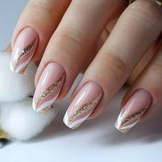 Chic Nails, Stylish Nails, Trendy Nails, Manicure Nail Designs, Acrylic Nail Designs, Elegant Nails, Classy Nails, Perfect Nails, Gorgeous Nails