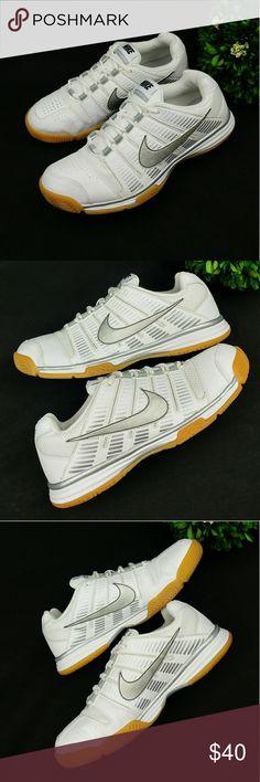 4478a889 Nike MULTICOURT 9 womens athletic shoes Nike MULTICOURT 9 womens athletic  shoes White and silver color