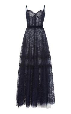Gossamer Lace Corset Dress by Costarellos Ball Dresses, Ball Gowns, Prom Dresses, Formal Dresses, Corset Dresses, Evening Dresses, Pretty Outfits, Pretty Dresses, Beautiful Dresses