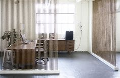 partitions ideas rope wall contemporary