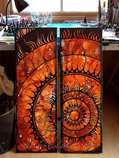 Sun Mandala - Diptych | Did some more work last night on thi… | Flickr