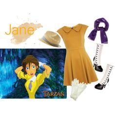 Jane - going to visit Tarzan?