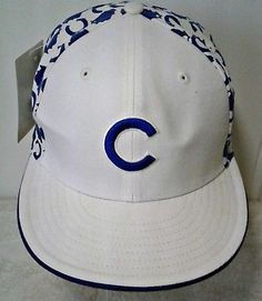 191e8f1364d New Era Sample Hat Chicago Cubs 59Fifty Cap All Over State 7 1 4 Collectible