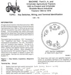 ford tractor ignition switch wiring diagram wiring library u2022 vanesa co rh vanesa co Chevy Ignition Switch Wiring Diagram Diesel Ignition Switch Wiring Diagram