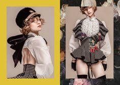 // tad inappropriate but I can fix that Kawaii Fashion, Lolita Fashion, Cute Fashion, High Fashion, Fashion Show, Womens Fashion, Fashion Design, Lolita Mode, Mode Editorials