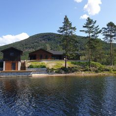 Vacation Bungalow in Vrådal Washer And Dryer, Great Places, Bungalow, Norway, Cabin, Smoke, Vacation, Park, House Styles