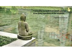 Peace and tranquility is a choice