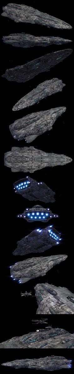 Battleship image - Yuuzhan Vong at War mod for Star Wars: Empire at War: Forces of Corruption Star Wars Ships, Star Trek, Yuuzhan Vong, Sw Rebels, Nave Star Wars, Starship Concept, Capital Ship, Star Wars Vehicles, Galactic Republic