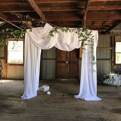 Holly & I are very pleased with ourselves! Bridal Table, Backdrops, Shed, Curtains, Weddings, Orange, Home Decor, Lean To Shed, Blinds