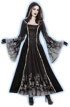 Forum Novelties Women's Forsaken Souls Costume, Black, Standard