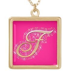 Shop Zazzle's Pink necklaces for yourself or a loved one. Choose from our amazing designs & artwork. Pink Necklace, Cute Necklace, Locket Necklace, Initial Necklace, Letter J, Initials, Diamonds, Frame, Artwork