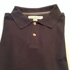 Tommy Bahama Polo Spread collar 52 cotton 38 poly. Shirt is in very good condition runs big. Material is high quality as all tommy Bahama products Tommy Bahama Shirts Polos