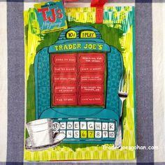 Trader Joe's Reusable Shopping Tote Mystery Pack $2.99 トレーダージョーズのエコバッグ ミステリーパック #トレーダージョーズ #エコバッグ #traderjoes #shoppingtote #mysterypack #reussablebag #grocerybag