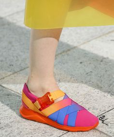 24 Stellar Shoes from #LFW - Christopher Kane - from InStyle.com