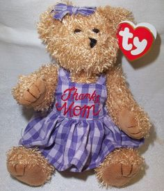 ty bears attic collection | Adorable Teddy Bears for Mother's Day 2013