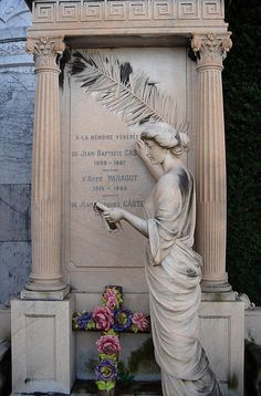 Nice Cemetery in South of France Nice France, South Of France, France Europe, Villefranche Sur Mer, Cemetery Flowers, Old Cemeteries, Cemetery Art, Angel Of Death, Simply Beautiful