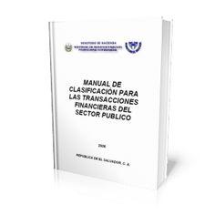 LIBROS GRATIS: MANUAL DE CLASIFICACIÓN PARA LAS TRANSACCIONES FIN...