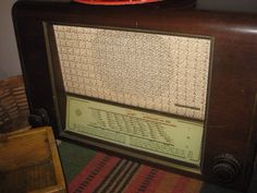 Rádio ou telefonia antiga