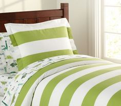 Rugby Duvet Cover | Pottery Barn Kids
