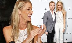 Storm Uechtritz and fiance Ronan Keating party in London