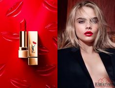 YSL-Rouge-Pur-Couture-Kiss-Love-Fall-2015-Makeup-Collection-look1.png (PNG Image, 755 × 580 pixels)